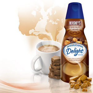 International Delight Hershey's Chocolate Caramel Coffee Creamer