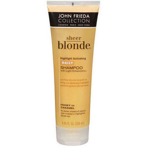 John Frieda Sheer Blonde Highlight Activating Enhancing Shampoo for Darker Shades