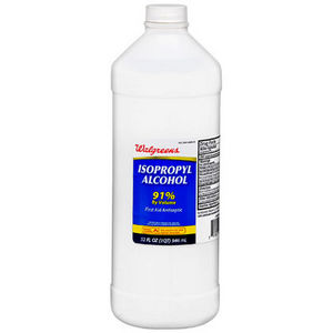 Walgreens Isopropyl Alcohol 91% 32oz bottle