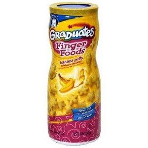 Gerber Graduates Finger Foods Banana Puffs