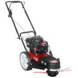 "Craftsman 22"" wheeled weed trimmer"