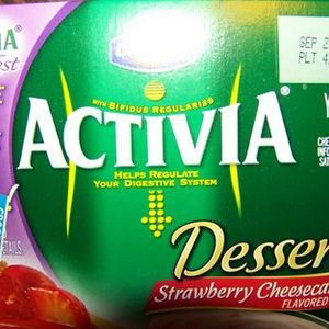 Dannon Activia Yogurt Dessert Strawberry Cheesecake