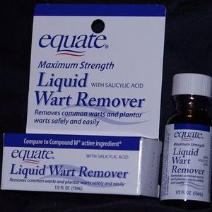 Equate (Walmart) Liquid Wart Remover