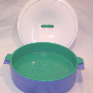 Tupperware Family Size Micro Steamer