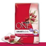 Purina One SmartBlend Beef & Rice Formula Dry Dog Food
