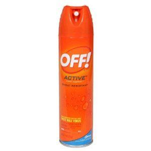 Off! Active Sweat Resistant Insect Repellent