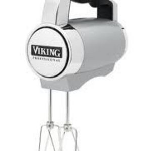 Viking Digital speed Hand Mixer, Metallic Silver