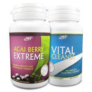 HH Nutritionals Acai Berry Extreme/Vital Cleanse Set