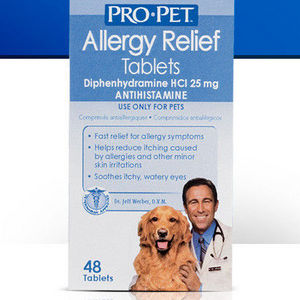 PRO PET Allergy Relief Tablets