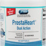 NSI ProstaHeart Dual Action 90 count softgels bottle