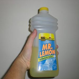 Dollar General Mr. Lemon Antibacterial Cleaner