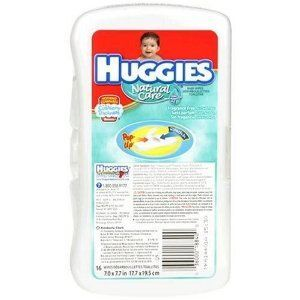 Huggies Unscented Baby Wipes Travel Pack