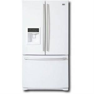 Incroyable LG French Door Refrigerator