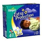 Pampers Baby Dry Overnight Extra Protection Diapers