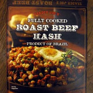 Trader Joe's Fully Cooked Roast Beef Hash