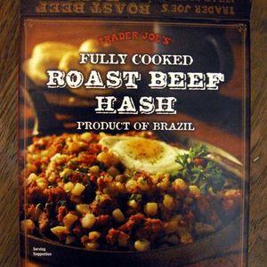 Trader Joe's Fully Cooked Roast Beef Hash
