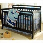 Da Vinci Emily 4-in-1 Convertible Crib in Ebony Black