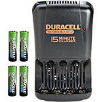 Duracell 15-Minute CEF15NC Battery Charger