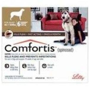 Comfortis Brown Chewable Tablets