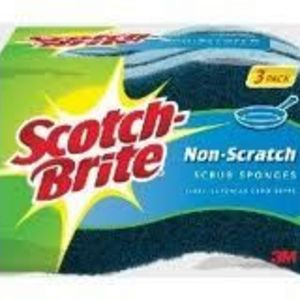 3M Scotch-Brite Non-Scratch Scrub Sponges