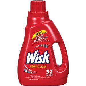 Wisk Deep Clean Liquid Laundry Detergent