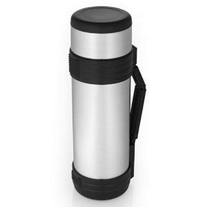 Thermos Nissan 61 Ounce Stainless Steel Bottle w/Folding Handle
