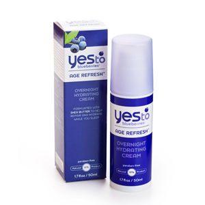 Yes to Blueberries Age Refresh Overnight Hydrating Cream