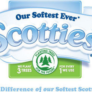 Scotties 2-Ply White Unscented Facial Tissue