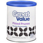 Great Value - (Walmart) Pitted Prunes