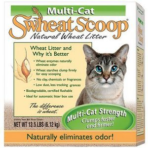 Swheat Scoop Multi-Cat Natural Wheat Litter