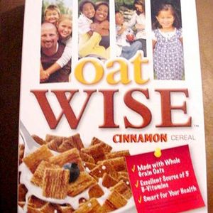 Ralston Foods Oat Wise Cinnamon Cereal