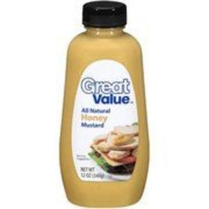 Great Value (Walmart) All Natural Honey Mustard