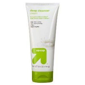 up & up Cream Deep Cleanser