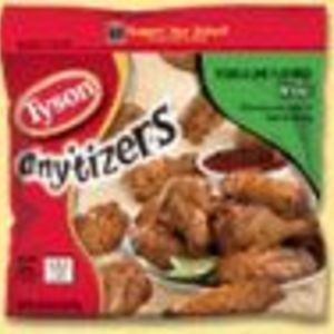 Tyson Tequila Lime Anytizers Frozen Wings