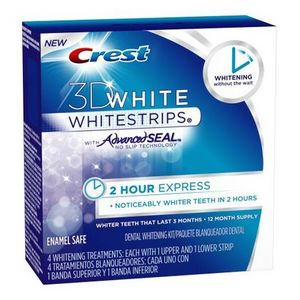 Crest 3D White Hour Express Teeth Whitening Strips