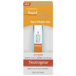 Neutrogena Rapid Clear Sore Pimple Gel