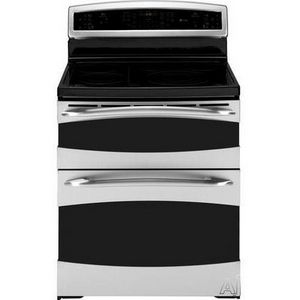 GE Freestanding Electric Double Oven Range