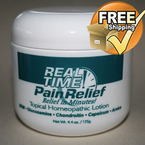 Real Time Pain Relief Topical Lotion Homeopathic Formula
