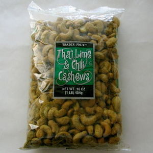 Trader Joe's - Thai Lime & Chili Cashews