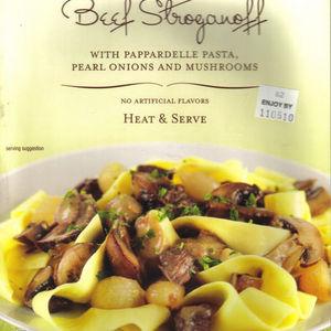 Trader Joe's Beef Stroganoff