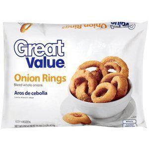 Great Value (Walmart) Onion Rings