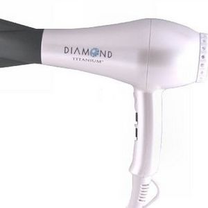 BaByliss Pro Diamond Titanium 1900 Watt Ionic Hair Dryer