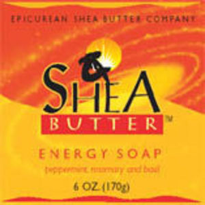 Epicurean Shea Butter Company Shea Butter Soap - Energy