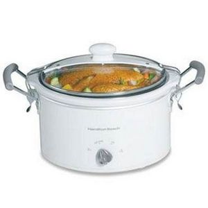 Hamilton Beach Stay-or-Go 4-Quart Slow Cooker