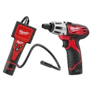 Milwaukee 2310 M-Spector Digital Inspection Camera / 2401 M12 Compact Screwdriver Combo