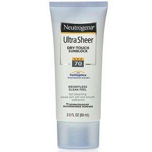 Neutrogena Ultra Sheer Dry-Touch Sunblock SPF 70