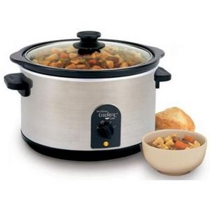 West Bend 6-Quart Round Crockery Cooker