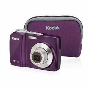 Kodak - EasyShare C182 Bundle (purple) Digital Camera