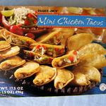 Trader Joe's MINI CHICKEN TACOS