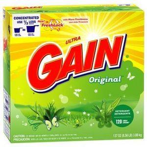 Gain Powder Laundry Detergent, Original Scent